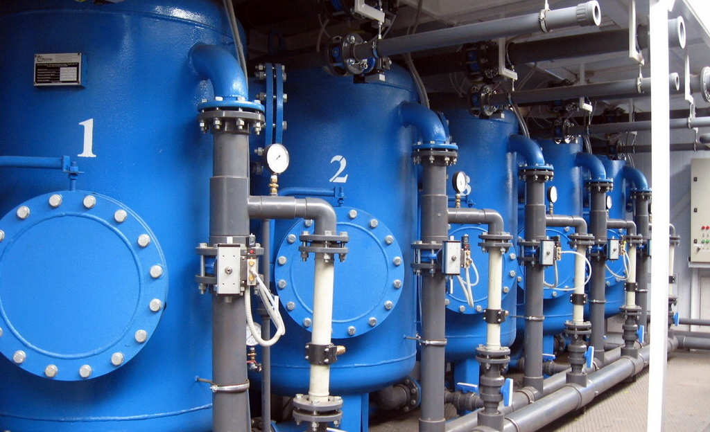 Система водоподготовки для производства напитков