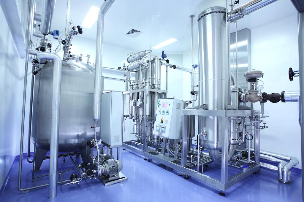 Система водоподготовки для производства фармакологической продукции
