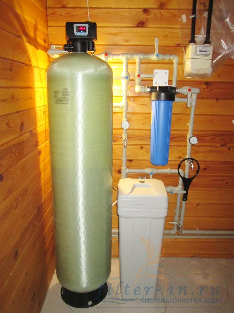Очистка воды с высоким содержанием взвешенных веществ и жесткости