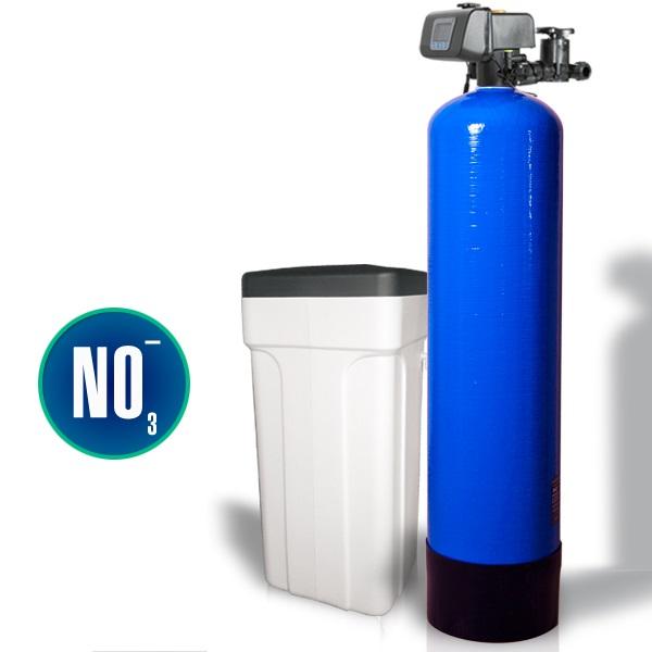 Очистка воды от нитратов с помощью ионного обмена