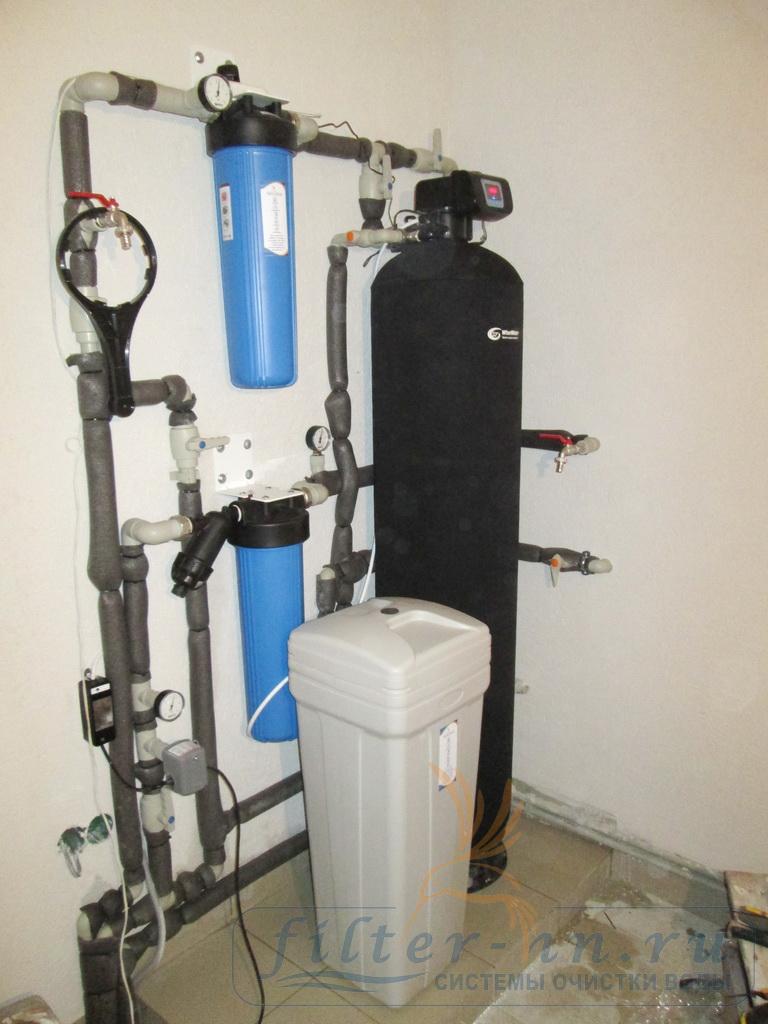 Очистка воды от жесткости в частном доме
