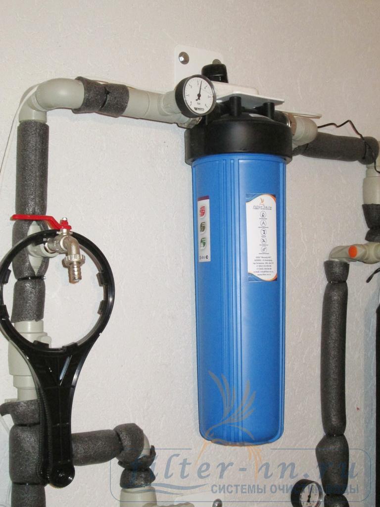 Угольный фильтр тонкой очистки