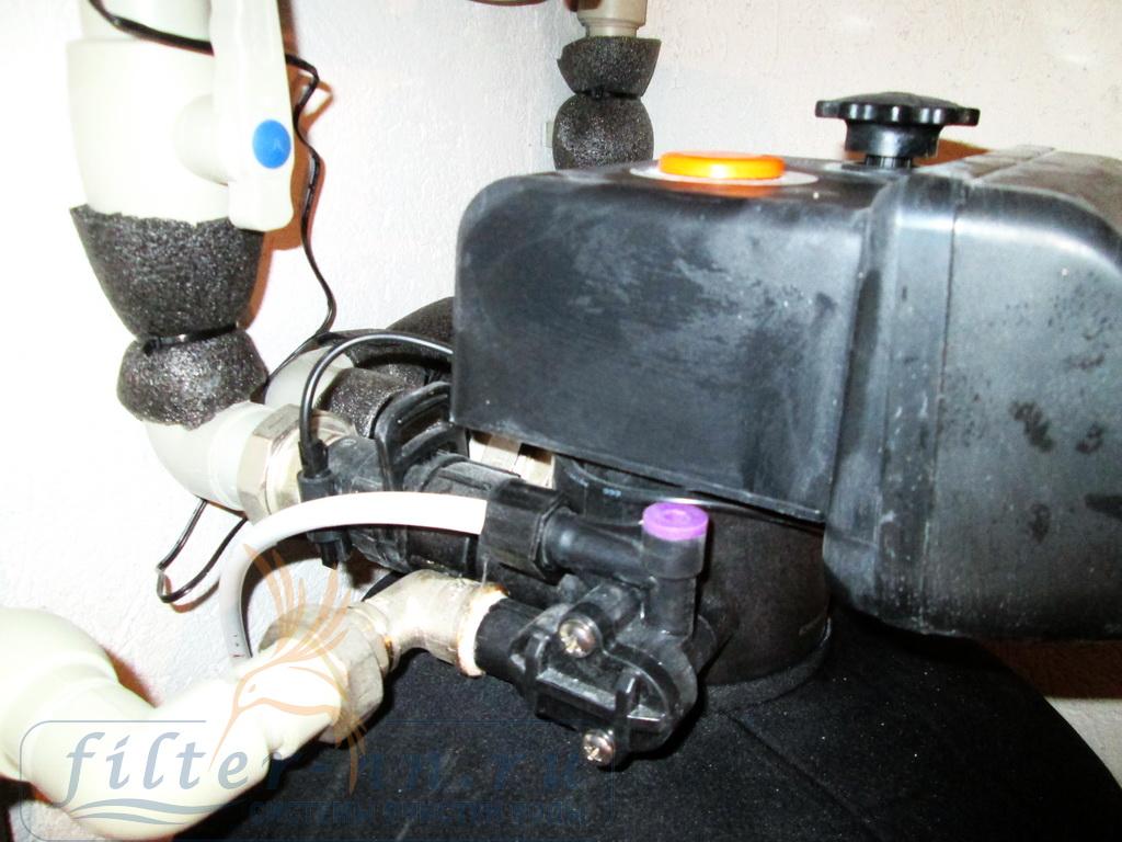 Эжектор забора солевого раствора