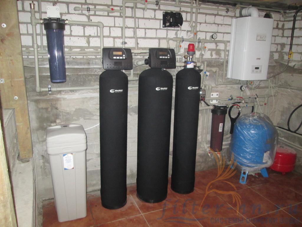 Общий вид станции водоподготовки