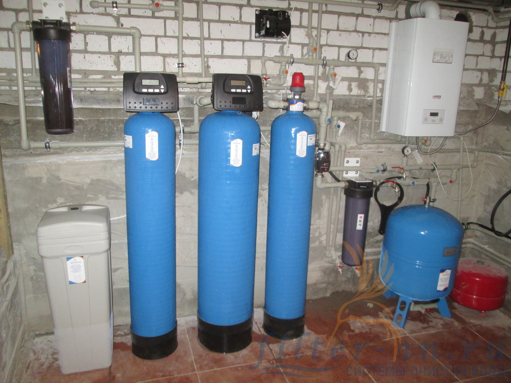 Станция водоподготовки без термочехлов