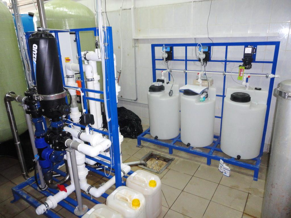 Удаление свободного кислорода из воды для котельной