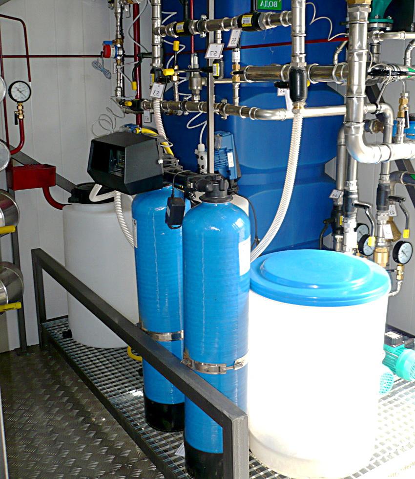 Умягчение и обезжелезивание воды для котельной