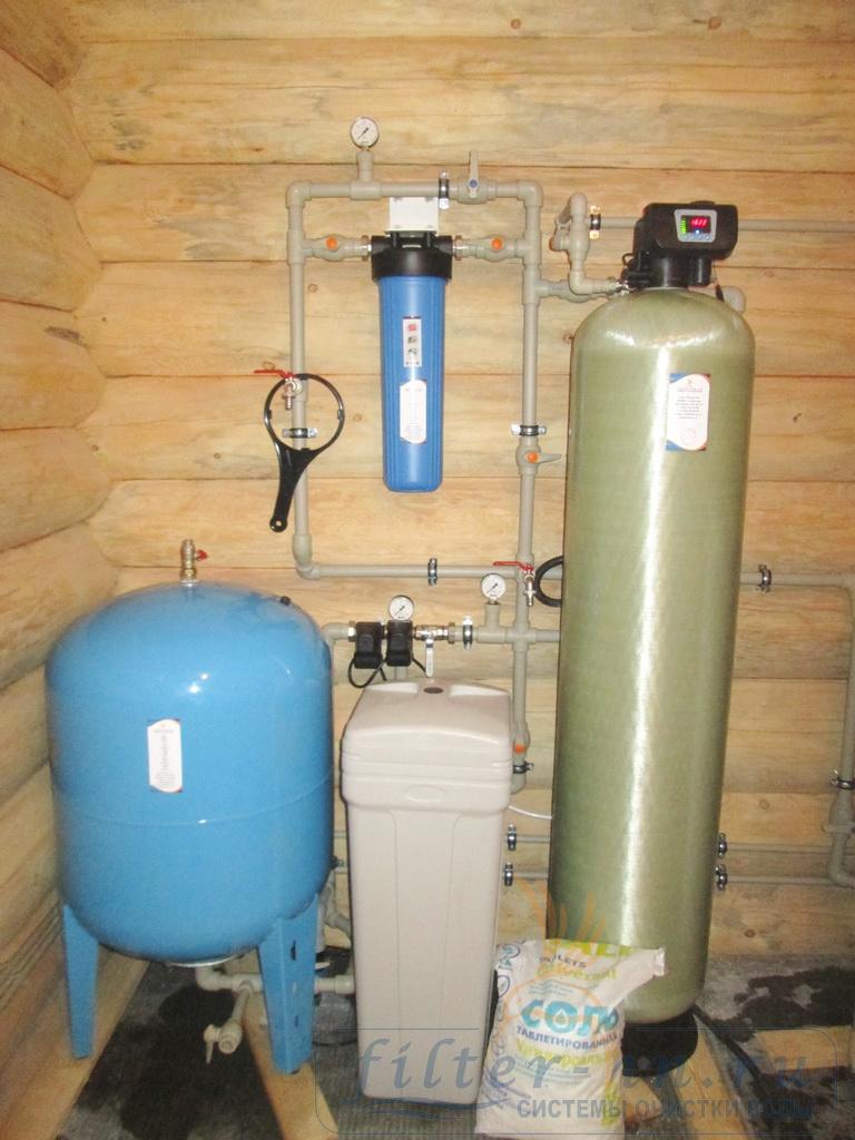 Общий вид станции умягчения воды