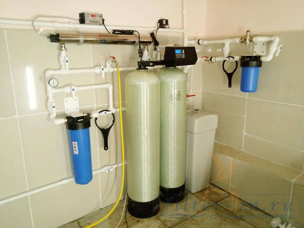 Испытание системы водоподготовки