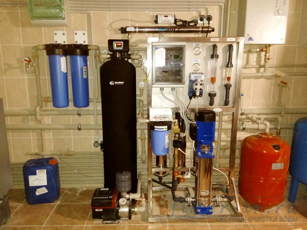 Умягчение, обессоливание и коррекция pH воды