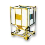 Контейнер для сыпучих продуктов с шибером 1000 л (КМГ1100МШК)