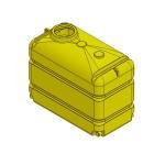 Пластиковая емкость для перевозки воды (МП3000ФК3_2П100)