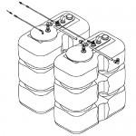Монтажные комплекты для топливных баков 800-2000 л