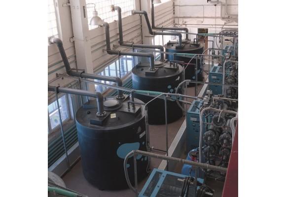Пластиковая емкость 8000 л с крышкой (8000ВФ560К2)