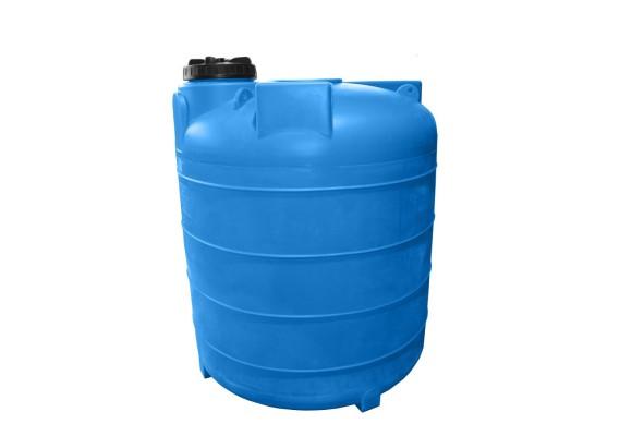 Пластиковая емкость 5000 л с крышкой (А_5000ВФК2)